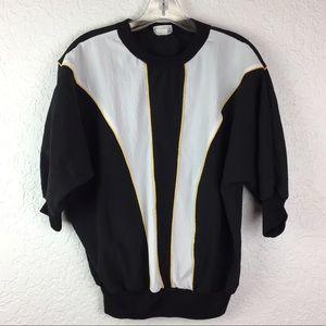 Vintage Cortiva windbreaker dolman shirt women's M